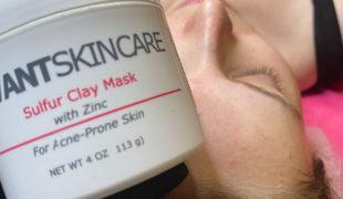Глиняная маска с серой Sulfur Clay Mask Vivant Skin Care